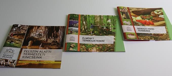 Magyar Nemzeti Parkok brosúrái