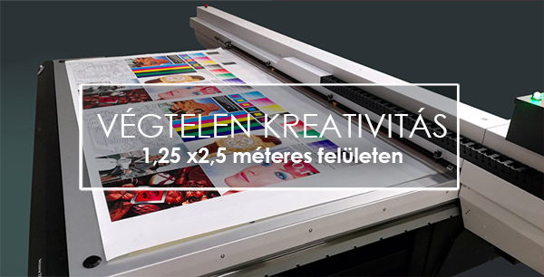 Végtelen kreativitás 1,25 x 2,5 m2-en